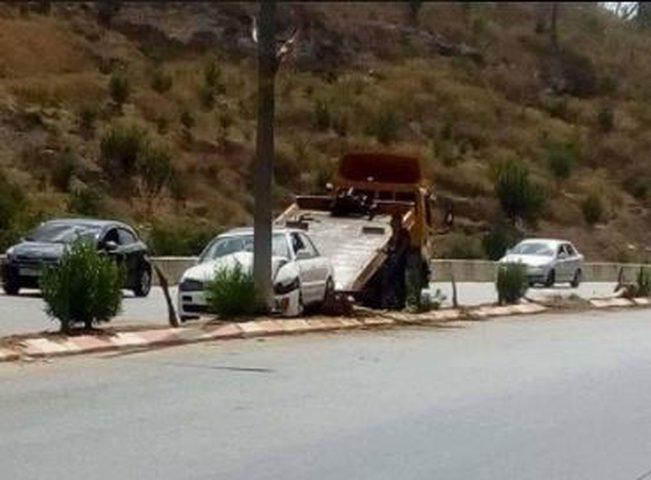 إصابة 11 مواطنا في حوادث سير بجنين