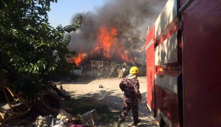 24 حادث حريق وإنقاذ في أول أيام العيد