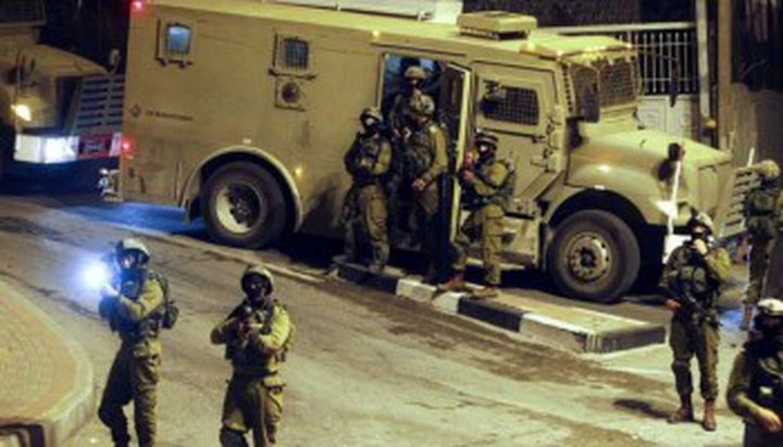 إصابة جندي في مواجهات بقرية دير أبو مشعل