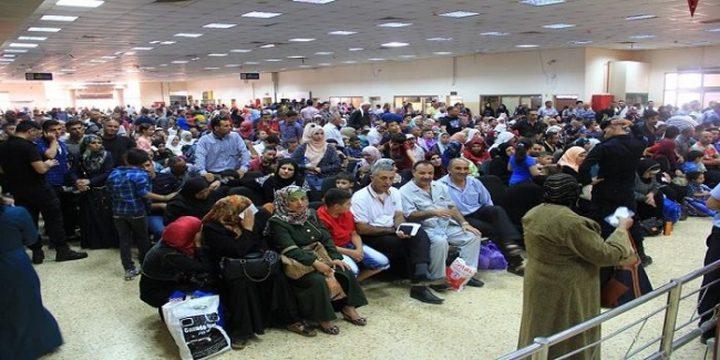 إزدياد عدد المسافرين في ثاني أيام العيد