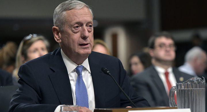 ماتيس: سنرد بعمل عسكري عنيف ضد كوريا الشمالية
