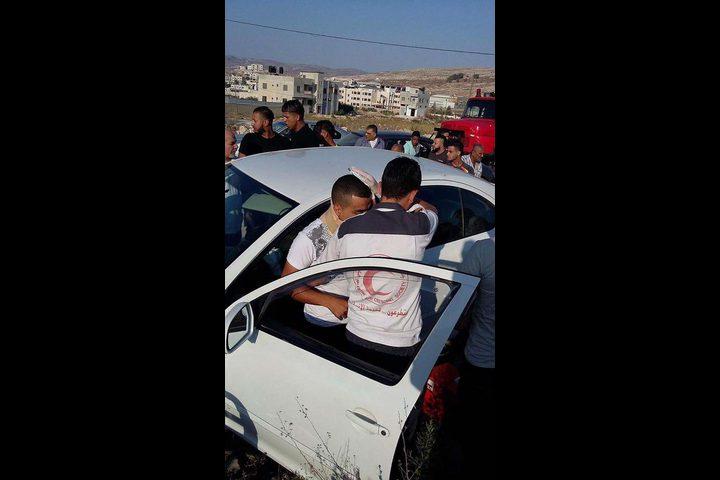 8 اصابات في حادث سير على طريق الفارعة-طوباس