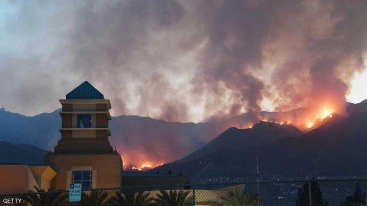 كاليفورنيا تعلن الطوارئ لمواجهة أكبر حريق بتاريخها