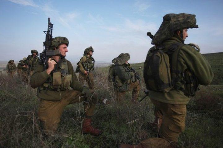 الاحتلال يشرع بمناورات عسكرية تعد الأضخم منذ 19 عام