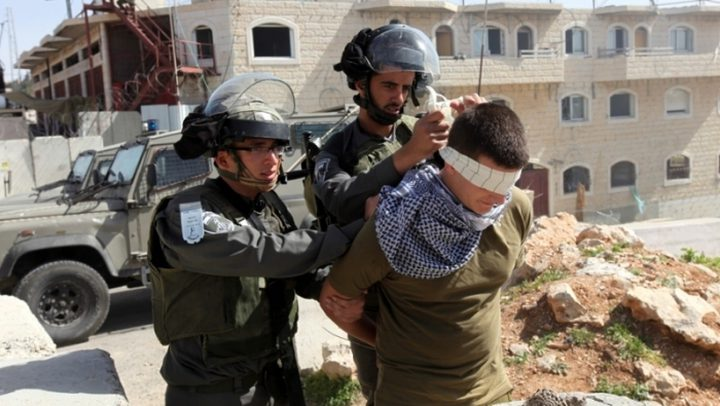 الاحتلال يعتقل اثنين من عائلة شماسنة