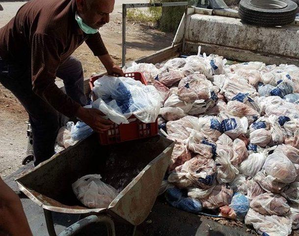 اتلاف 2 طن من اللحوم الفاسدة في الخليل