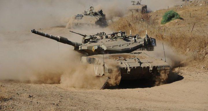 توغل لآليات الإحتلال شرق مدينة غزة