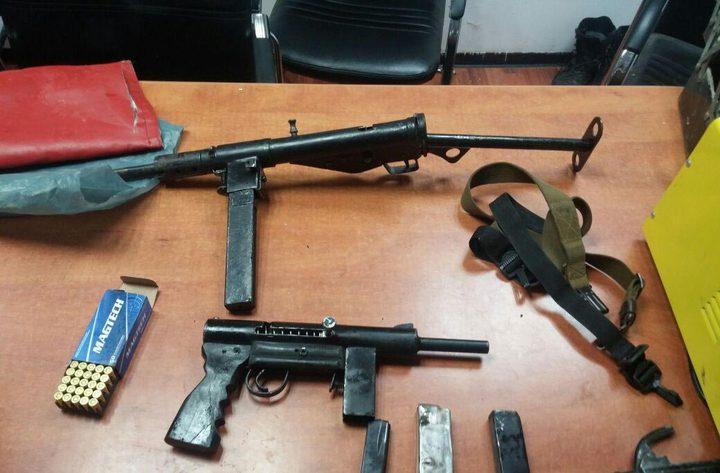 الاحتلال يدعي مصادرة 250 قطعة سلاح منذ بداية العام