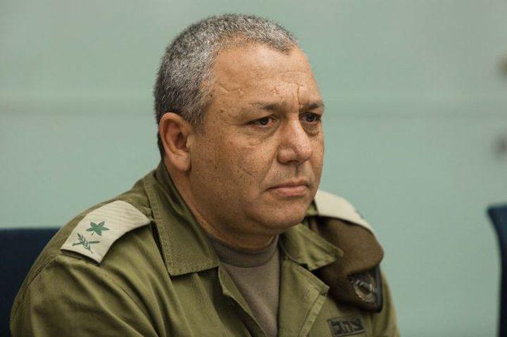 في إسرائيل.. غُرم 10 الآف شيكل لأنه اهان رئيس الأركان