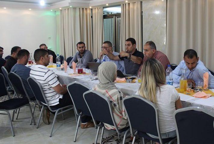 اجتماع للجنة المنظّمة لبطولة فلسطين الدولية للتايكواندو