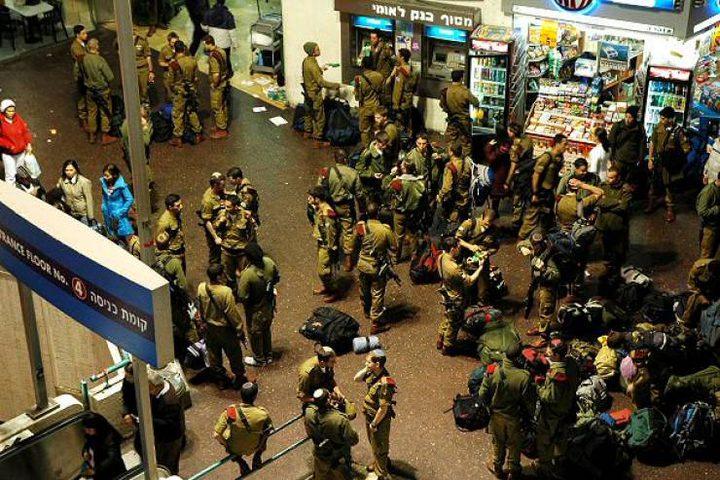 ممارسات عرقية في محطة تل أبيب