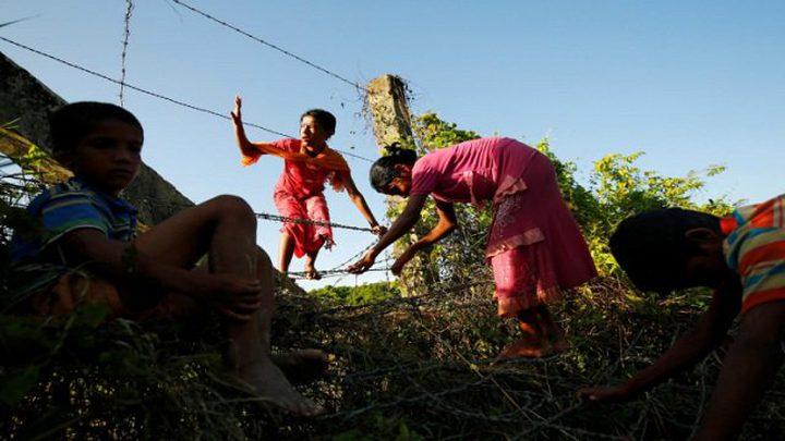 ميانمار تلغّم حدودها لمنع عودة مسلمي الروهينغا