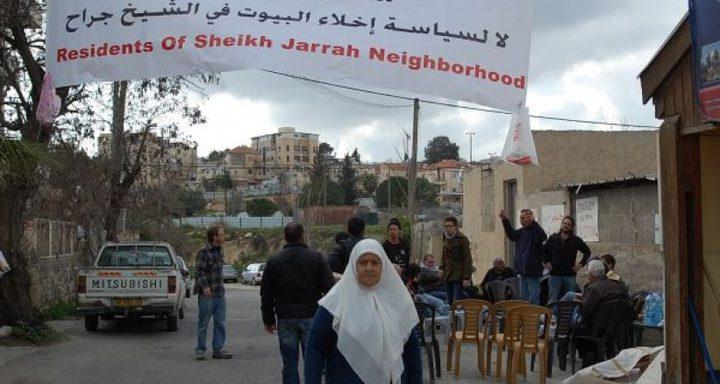 دعوة لصلاة الجمعة أمام منزل عائلة شماسنة