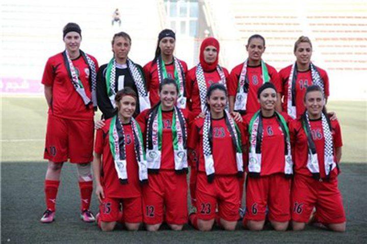 منتخب فلسطين للسيدات يتقدم على تصنيف الفيفا