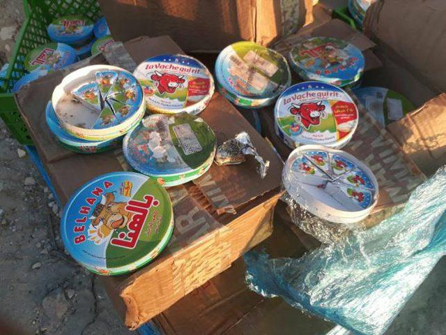 ضبط مواد تموينية فاسدة في نابلس