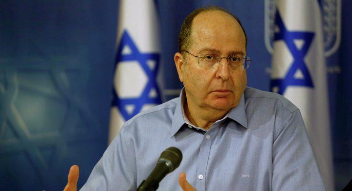 يعالون يطالب نتنياهو بالاستقالة من منصبه فورًا