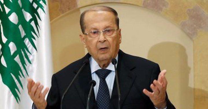 الرئيس اللبناني: تقدمنا بشكوى ضد إسرائيل لمجلس الأمن