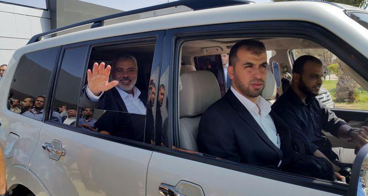 النونو: إجتماع ثان لهنية مع المسؤولين المصريين اليوم