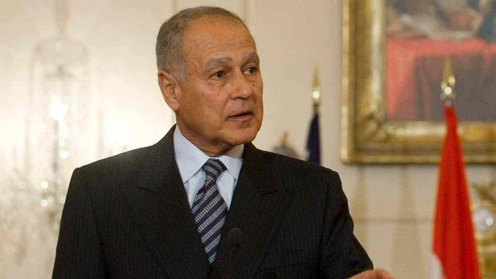 أبو الغيط: المخططات الاستيطانية تقضي على حل الدولتين