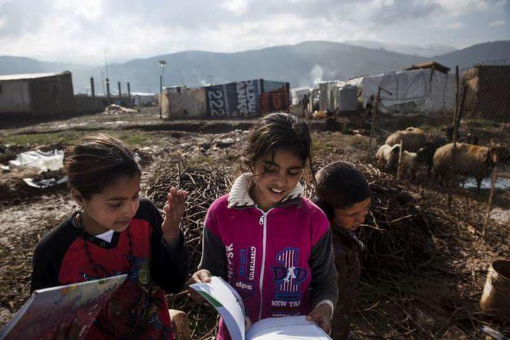 تقرير: 3.5 مليون طفل لاجئ بلا مدارس