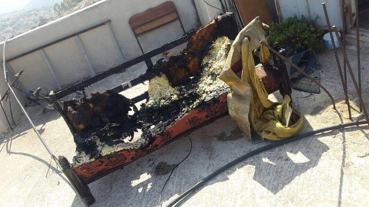 اندلاع حريق بمنزل جنوب جنين