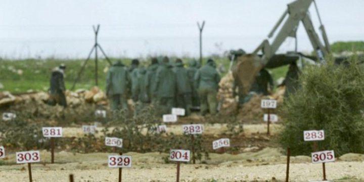 نيابة الاحتلال: دفن أربعة شهداء من الضفة بمقابر الأرقام
