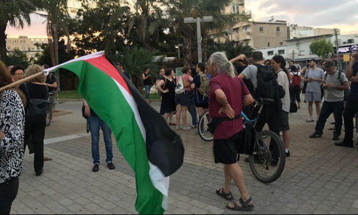 تظاهرة في يافا احتجاجا على عنف الشرطة ضد العرب
