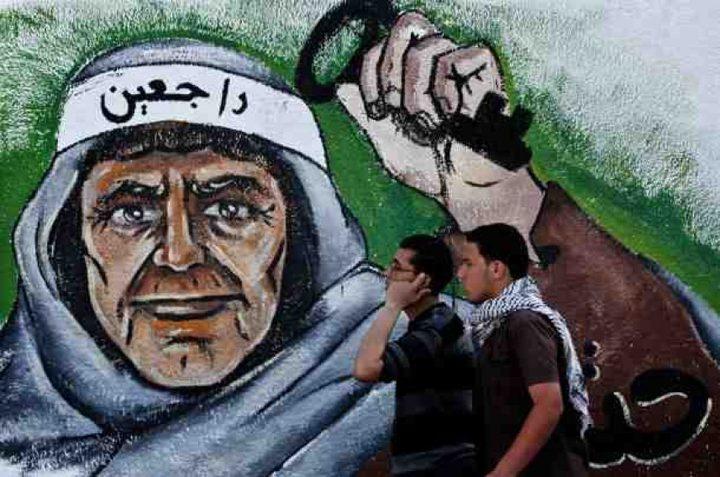 أبو يوسف: القيادة تكافح سياسة إلغاء قضية اللاجئين