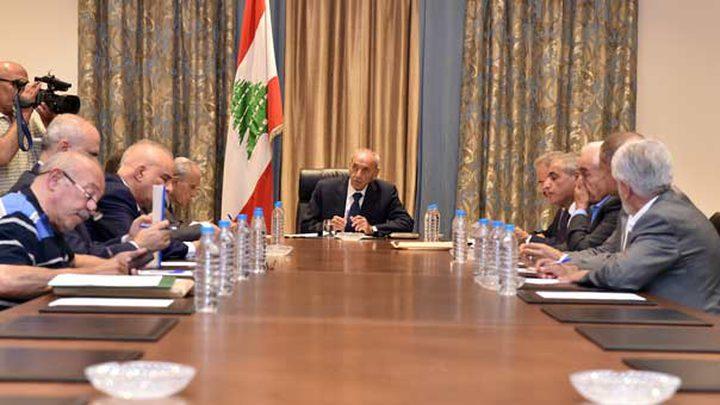 الرئيس اللبناني يقدم اقتراح قانون بتقصير ولاية المجلس نهاية العام