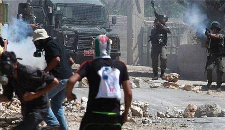 مواجهات مع الاحتلال وسط مدينة الخليل
