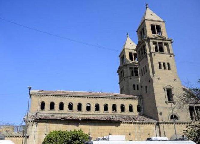 """""""رؤساء الكنائس"""" يدين الإعتداء على كنيسة"""