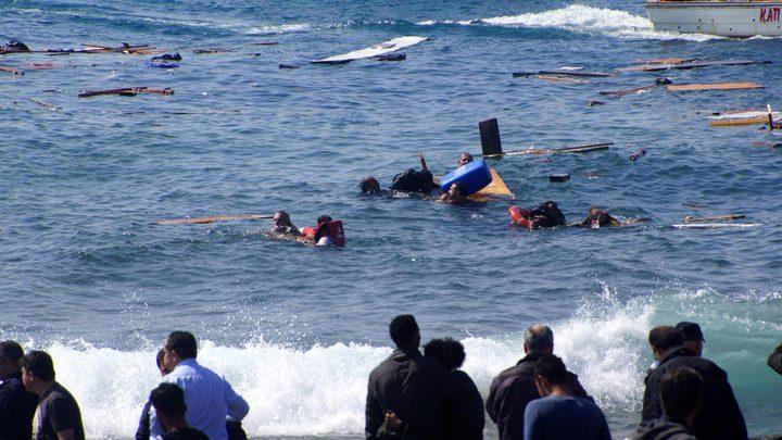 اكثر من 100 مفقود قبالة سواحل ليبيا بعد غرق قارب