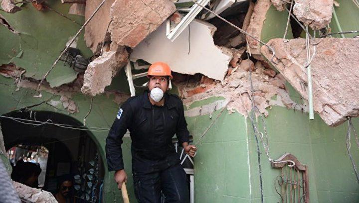 """ارتفاع عدد قتلى زلزال المكسيك إلى """"286"""""""