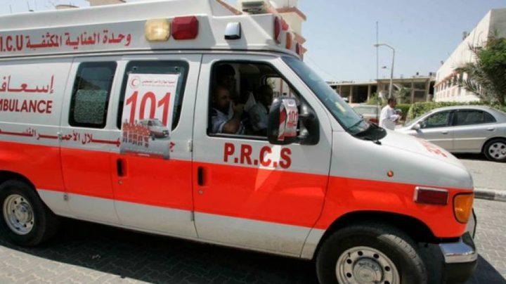 اصابة شرطي بحادث دهس في رام الله