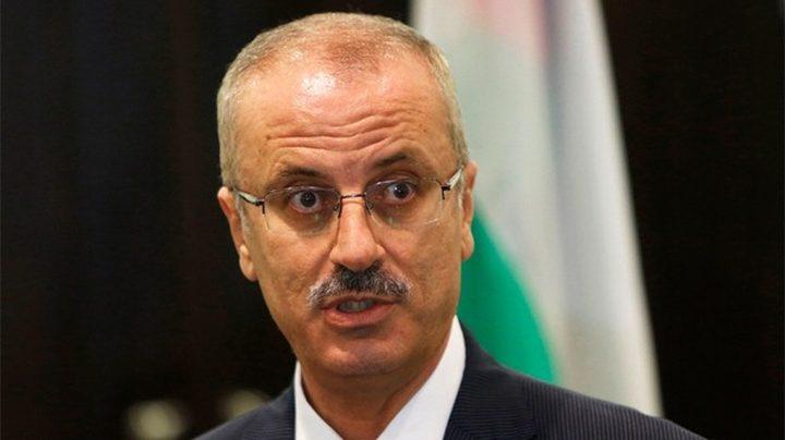 """رئيس الوزراء يرحب بقبول عضوية فلسطين بـ""""الإنتربول"""""""