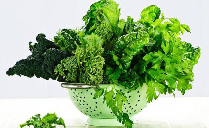 ما أهمية الخضروات الورقية للقلب؟
