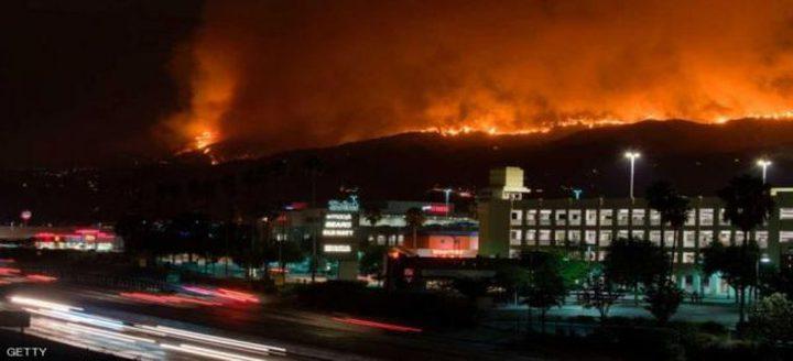 10 قتلى جراء الحرائق في ولاية كاليفورنيا