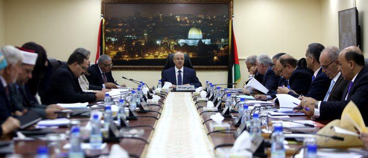 مجلس الوزراء: جاهزون لتسلم غزة حال اتفاق الفصائل