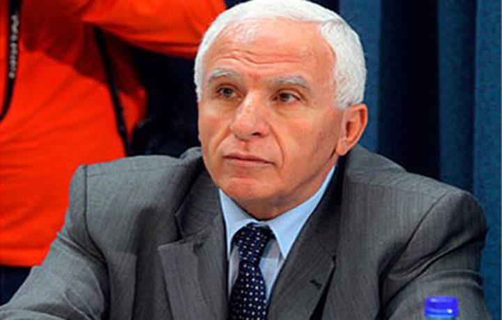 الأحمد: النقطة الأساسية بإجتماع اليوم مناقشة مسألة تمكين الحكومة في غزة