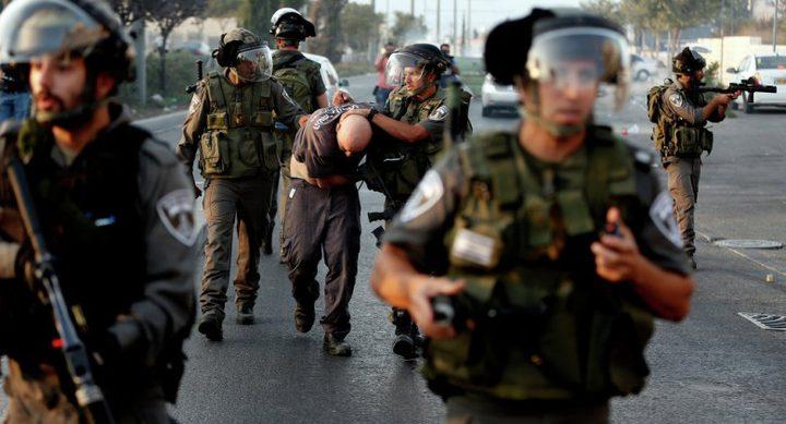 الاحتلال يعتقل أربعة مقدسيين