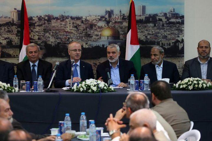 حماس جاهزة لتسليم قطاع غزة كاملا لحكومة الوفاق