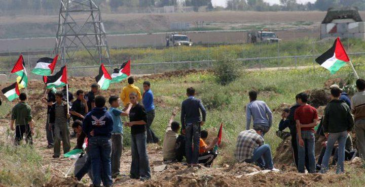 (5) إصابات برصاص الاحتلال وسط القطاع
