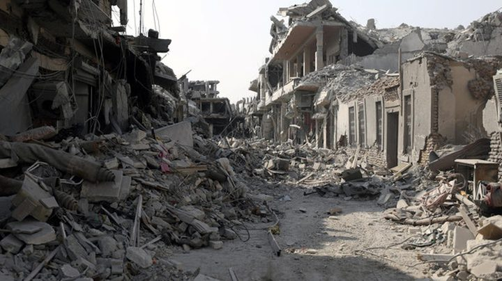 التحالف: قافلة دواعش تغادر الرقة اليوم بموجب تسوية