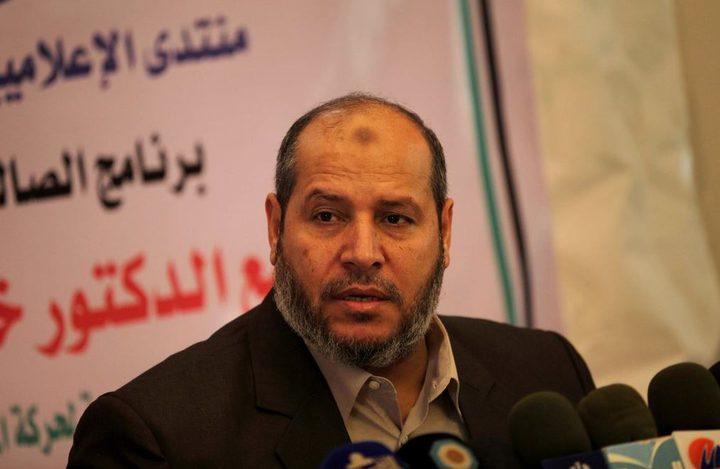 الحية: ليس لنا ولاية على الشعب الفلسطيني في قطاع غزة