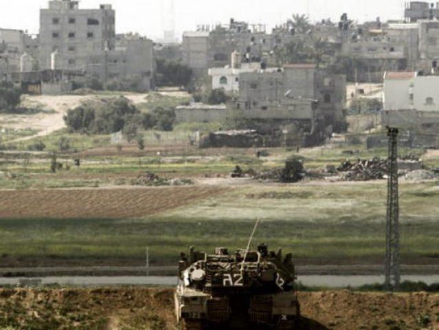 الاحتلال يطلق النار بإتجاه موقع شرق المغازي