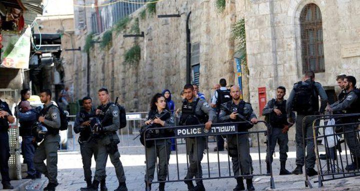 الاحتلال يواصل تشديد إجراءاته العسكرية بالقدس