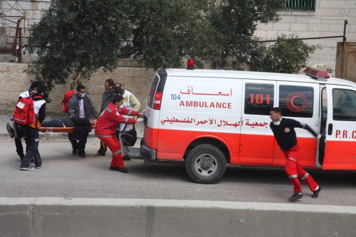 إصابة سبعة مواطنين بجراح في حادث تصادم مع حافلة نقل أطفال في نابلس