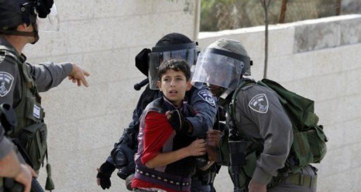 الاحتلال يعتقل طفلاً في القدس