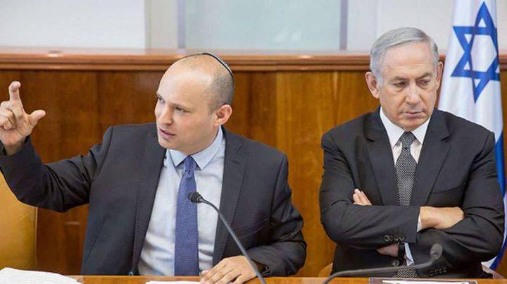 وزير اسرائيلي يطالب نتنياهو بقطع العلاقات مع السلطة
