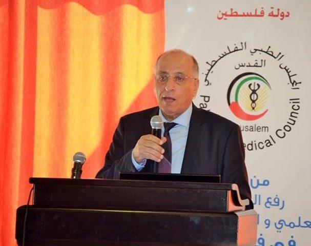 """تعيين """"أمين ثلجي"""" أميناً عاماً للمجلس الطبي الفلسطيني"""